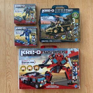 Boy's KRE-O Lego Transformers Toys Battleship Set